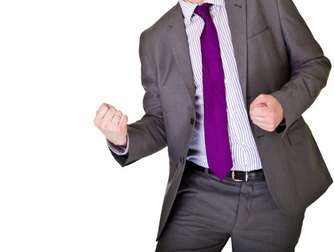 Happy-Dance_Purple-Tie-and-Gray-Suit_Fotolia_31471950_SM